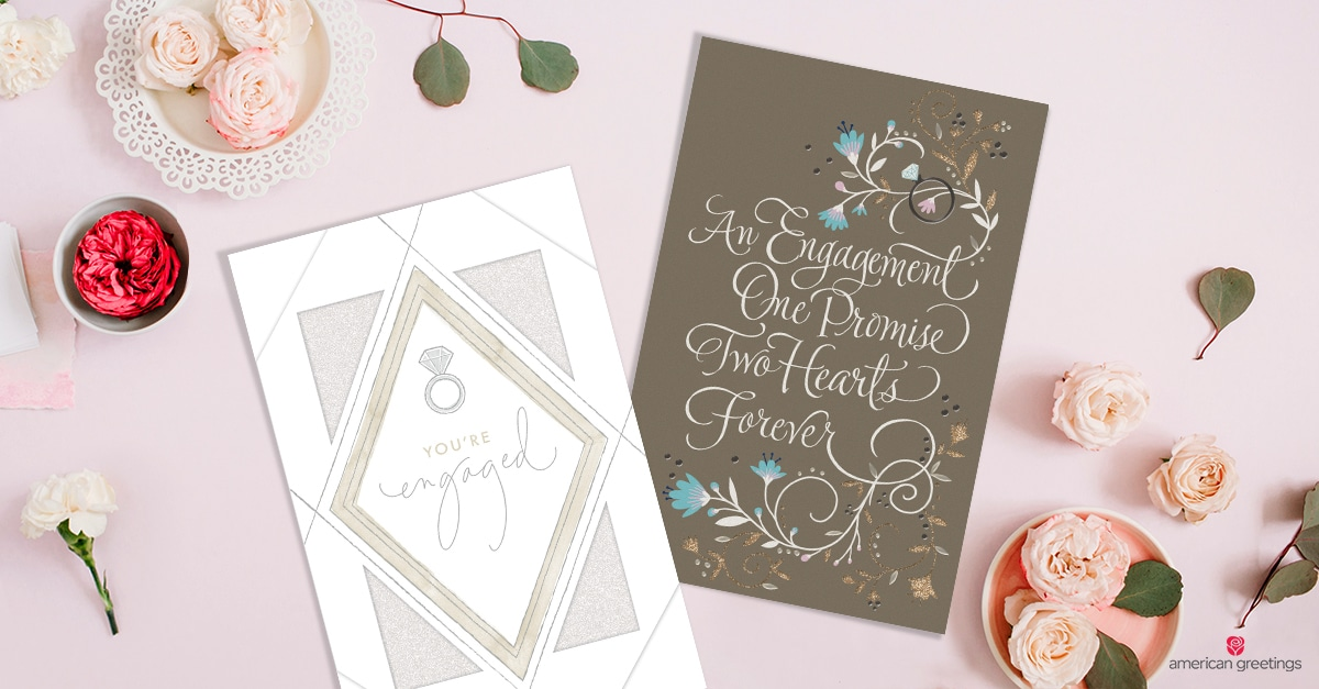 What to Write in an Engagement Card